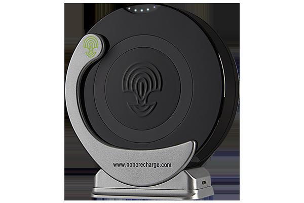 Caricabatteria Wireless nero